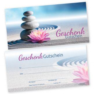 Zen-Gutscheinkarte ZENBLÜTE (Gutscheinkarte)