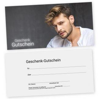 Friseurgutscheinkarte für Männer MÄNNERSTYLING (Gutscheinkarte)