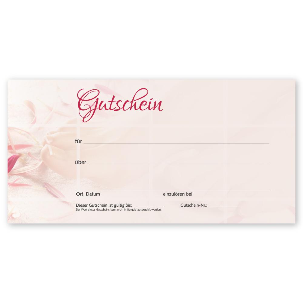 Pediküre Gutscheinkarte PINK LADY (Gutscheinkarte)