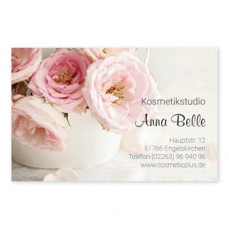 Visitenkarten VINTAGE (Querformat) für Beauy, Mode, Beratung, Gechenke